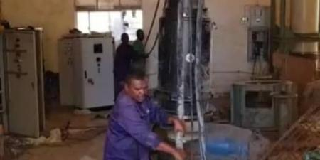 اخبار السودان اليوم - عطل مفاجئ في محطة ضخ الصرف الصحي الرئيسية رقم (6) غرب كبري المسلمية